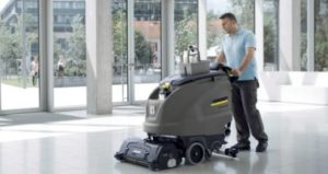 Managing Sanitation of Polished or Coated Concrete