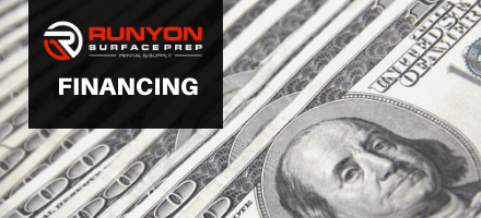 New Financing Options From Runyon Surface Prep