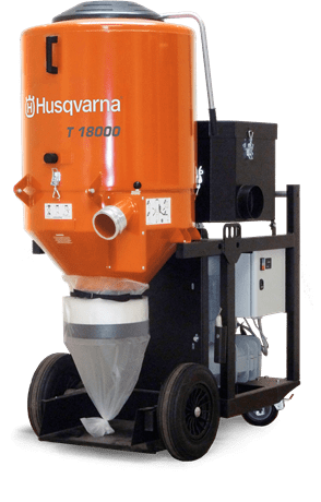 HUSQVARNA T 18000 DUST EXTRACTOR