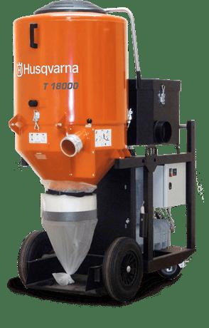 HUSQVARNA T 18000 DUST EXTRACTOR