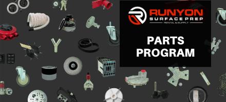 Runyon Surface Prep Debuts New Parts Program