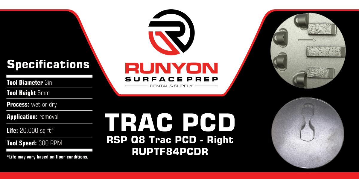 Runyon Trac PCD