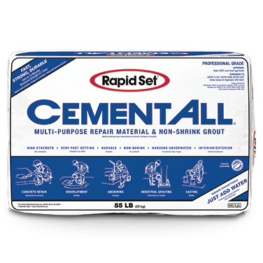 CTS Rapid Set Cement All Grout