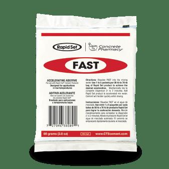 CTS Rapid Set Concrete Floor Mix Fast Additive Packet