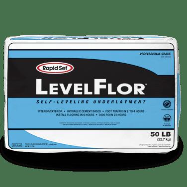 Rapid Set 50 Pound LevelFlor Self-Leveling Cement