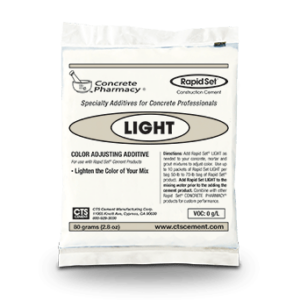 CTS Rapid Set Concrete Floor LIGHT Additive Packet