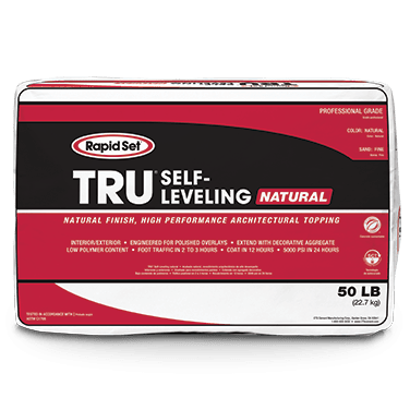 CTS Rapid Set 50 Pound TRU Self-Leveling Cement