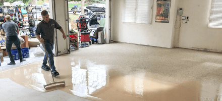 Flake/Resin Floor System Comparison