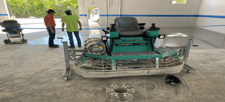 When to Use a Power Trowel on Your Concrete Floor