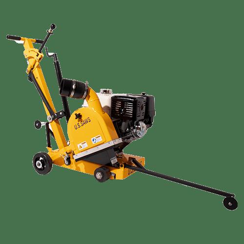 U.S. Saws JS-131 Gas Joint Cleanout Concrete Saw